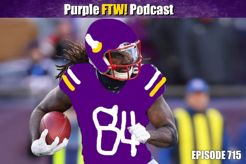 Purple FTW! Podcast: Chris Jericho is #OneOfUs. Top 100 Free Agents. Vikings Contract Updates feat. Darren Wolfson (ep. 715)