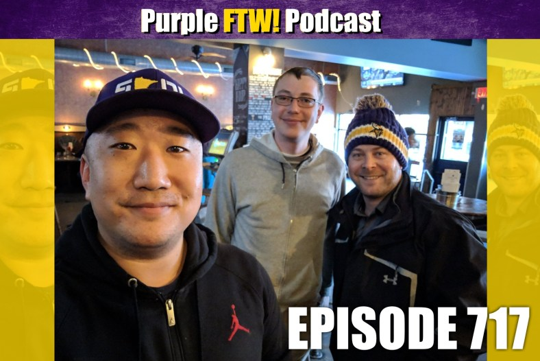 Purple FTW! Podcast: Draft SZN Rumors + Vikings Free Agency Talkers feat. Sean Borman! (ep. 717)