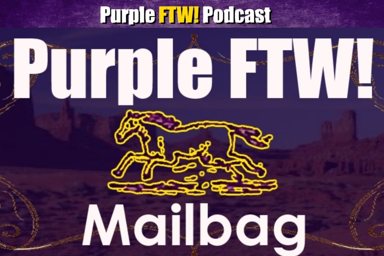 Purple FTW: Return of the Friday Mailbag + Jordan Reid! (ep. 755)
