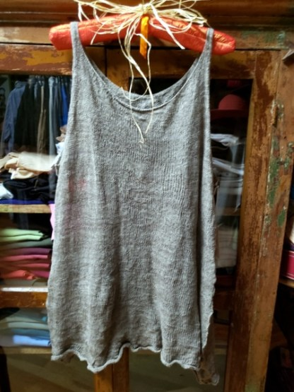 Cara May Wabi Saba Mushroom Knit Vest 2742