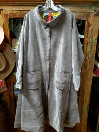 Ewa i Walla Cotton Velvet Coat 666320