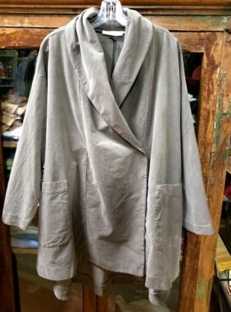 Baci Shawl Collar Taupe Jacket 6017