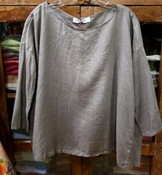 Veritecoeur Longsleeve Lighter Gray Top 3816