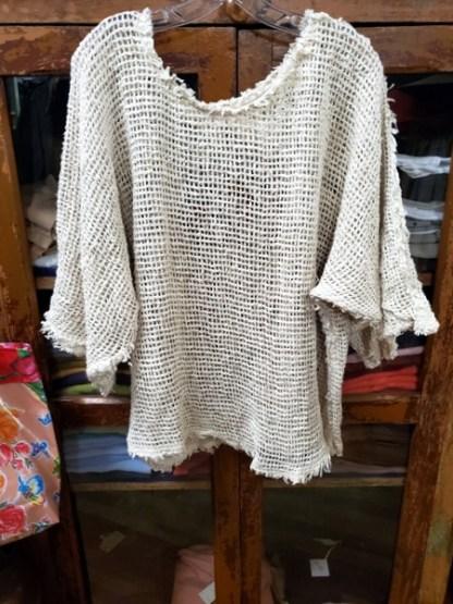 Magnolia Pearl Woven Cotton Shilo Shweatshirt 797