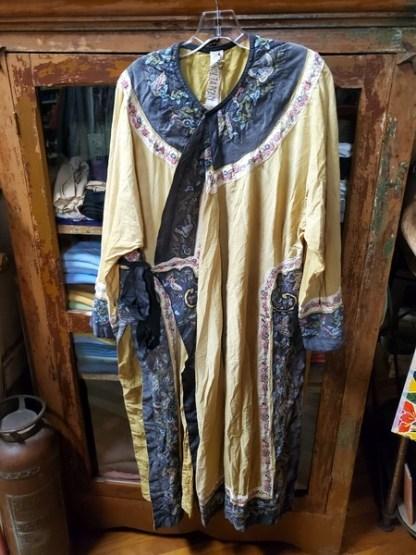 Magnolia Pearl Midnight Silk Miggy Oriental Coat Jacket 392