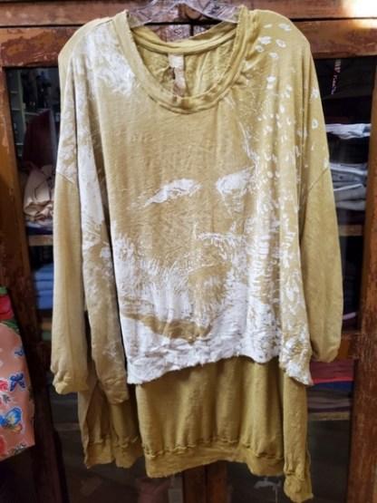 Magnolia Pearl Hi Lo Vincent Pearls Pullover T Top 731 - Marigold