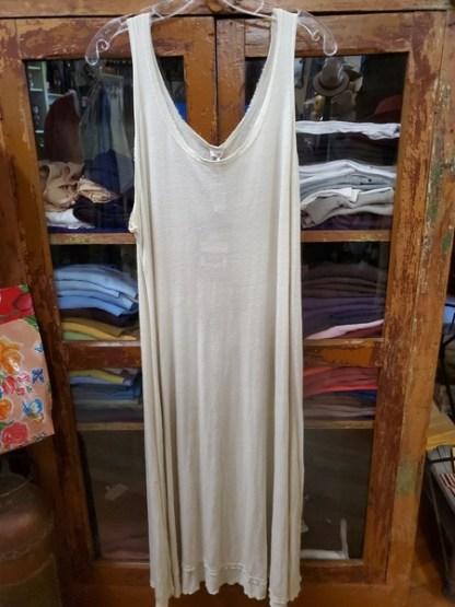 Magnolia Pearl Cotton Viscos Linen Olena Tank Dress 638 in Moonlight