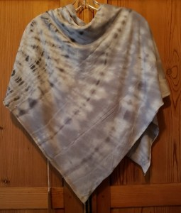Raquel Allegra Square Scarf Tie Dyed in ICE Z97-1745