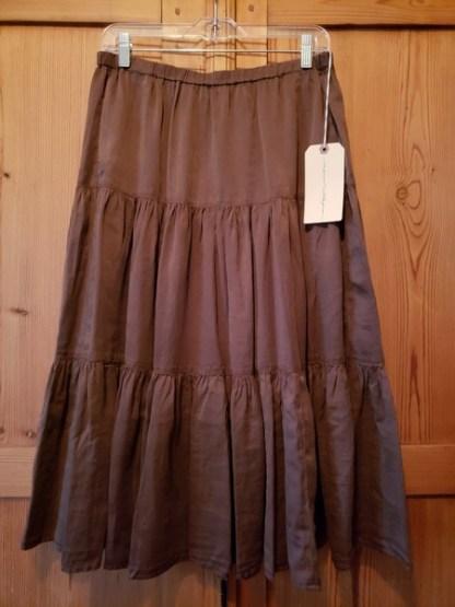Raquel Allegra Poetic Skirt in AGR Z97-8241