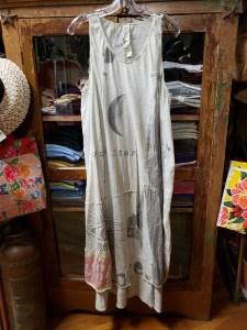 Magnolia Pearl Moonlight Art Graphic Layla Tank Dress 619