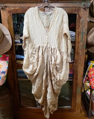 Magnolia Pearl Silk Tussar Gathered Dress 654
