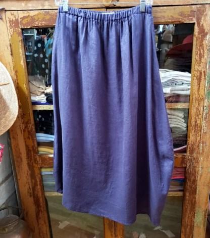 Krista Larson Basic Skirt in Cobalt 2350