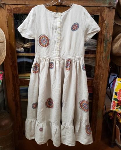 Ewa i Walla Cream Floral Dress 55647