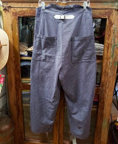 Ewa i Walla Original Blue Stripe Pants 11340