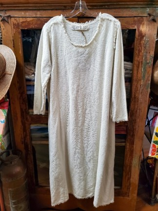 Magnolia Pearl Hand Woven Grace Dress 652 in Bone