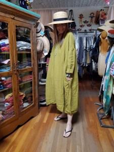Metta Melbourne Ottilie Dress in Sicilian Olive 672