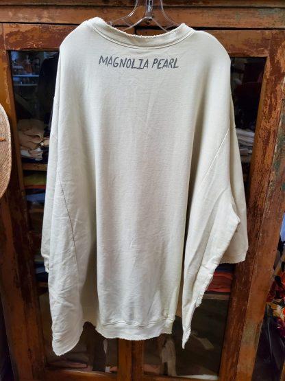 Magnolia Pearl Oversized Hi Lo Eye of Providence Pullover Sweatshirt Moonlight 789