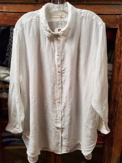 Metta Melbourne Man Shirt in White