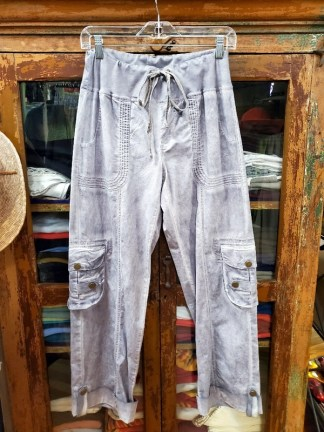 XCVI Grey Washed Pants