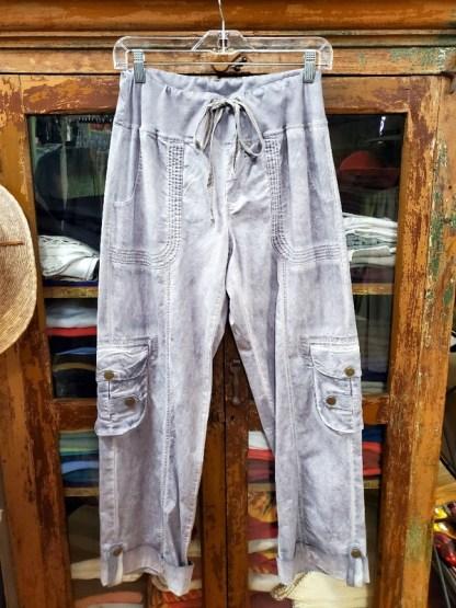 XCVI Grey Washed Pants