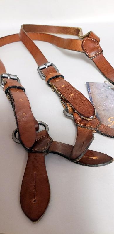 Ewa i Walla Leather Suspenders 99161 in Original