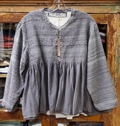 Magnolia Pearl Cotton Silk Khalo Jacket 395 0zzy