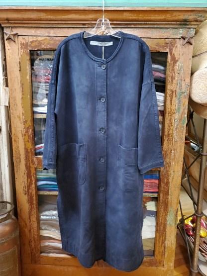 Raquel Allegra Duffle Vintage Black Coat