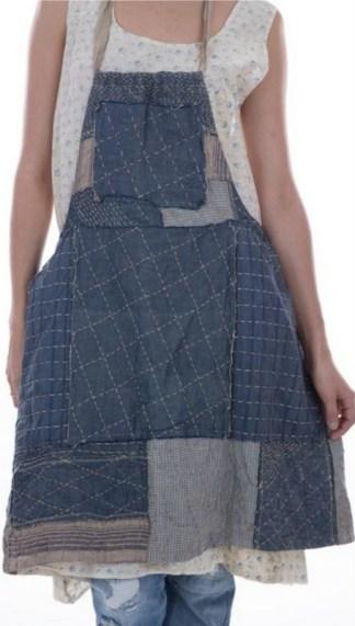 Magnolia Pearl Beibhinn Apron Dress 341 - Boro
