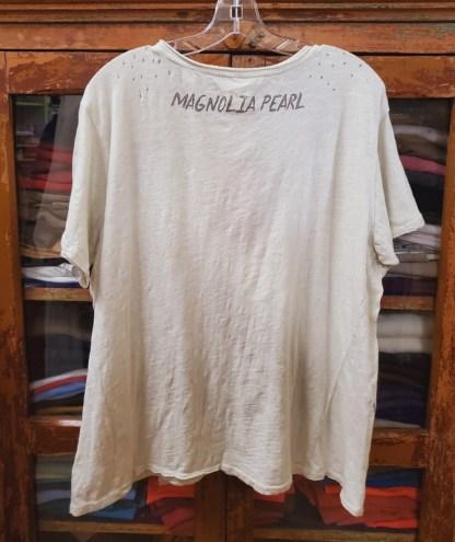 Magnolia Pearl Cotton Big Wave T Top 659 Moonlight