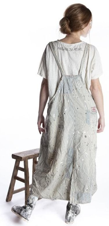 Magnolia Pearl Overall Dress in Big Hickory 023