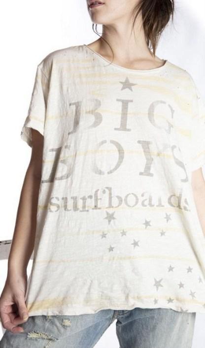 Magnolia Pearl Cotton Jersey Big Boy Surf T Top 481 Moonlight