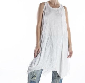 Magnolia Pearl Cotton Jersey Paz A Line Tank Dress 670 -- True