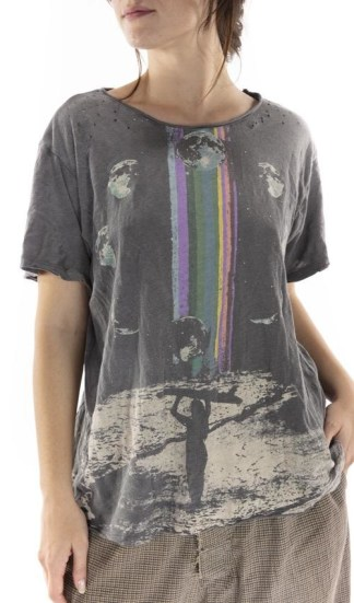 Magnolia Pearl Cotton Jersey Rainbow Surfer T Top 929 - Ozzy