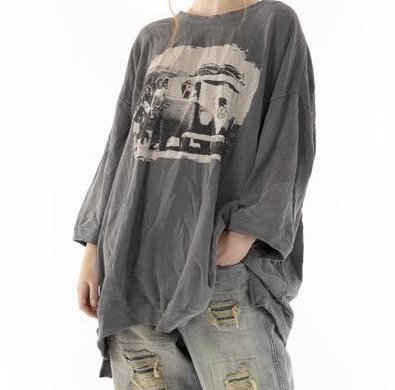 Magnolia Pearl oversized Baja Surf Francis Pullover Top 959 - Ozzy