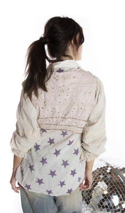 Magnolia Pearl Penella Cropped Layering Jacket 475 -- Lilac
