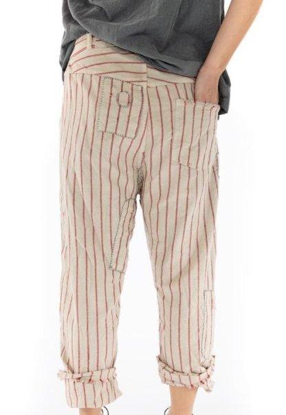 Magnolia Pearl Red/White Stripe Emmett Pants 216 Encore