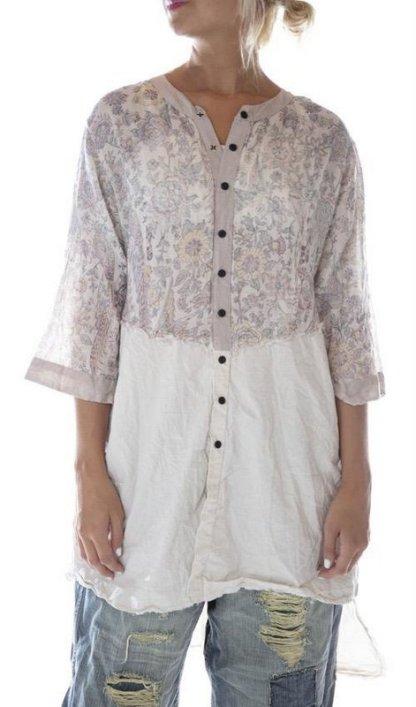 Magnolia Pearl Cotton Twill Dress 613 Acanthus Sun