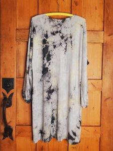 Raquel Allegra Classic Jersey Getty Dress 1849TD Black Lemon TD