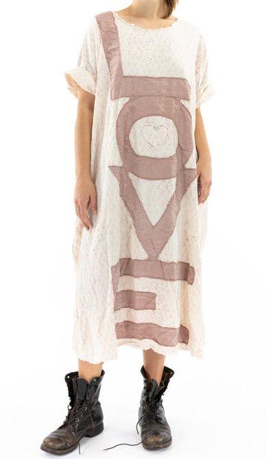 Magnolia Pearl LOVE Evolve Artist Smock Dress 728 Flutter