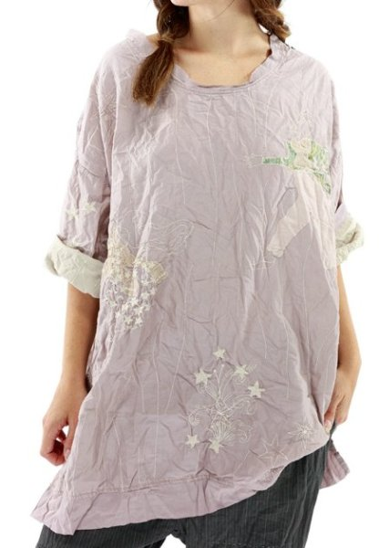 Magnolia Pearl Quilted Oversized Francis Top 1036 Pony
