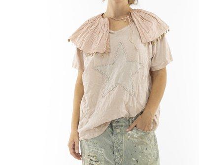 Magnolia Pearl Cotton Jersey Star Applique T Top 1051 Molly