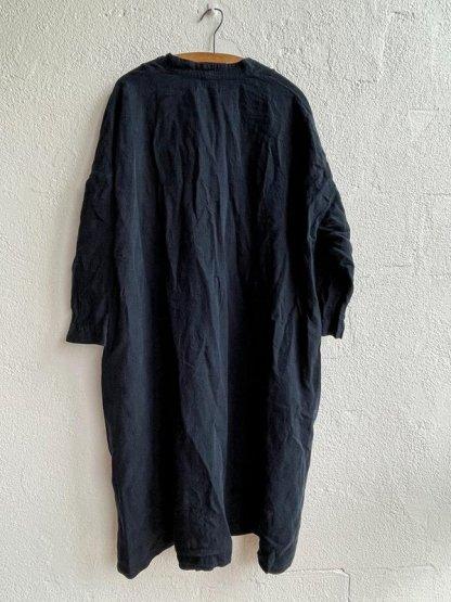 Metta Melbourne Ottilie V-Neck Dress 5777 Ink