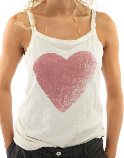 Magnolia Pearl Cotton Jersey Season of Love Astrid Tank Top 262 Moonlight