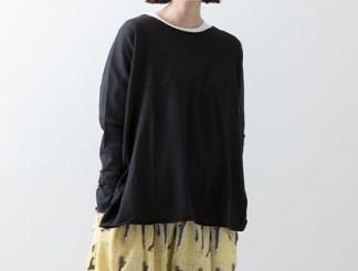 Veritecoeur Tee Top 398 Sumikuro (Black)