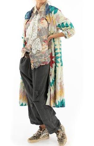 Magnolia Pearl Quiltwork Tancy Coat Jacket 520 Dakota