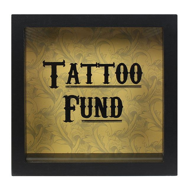 """Tattoo Fund"" Money Box"