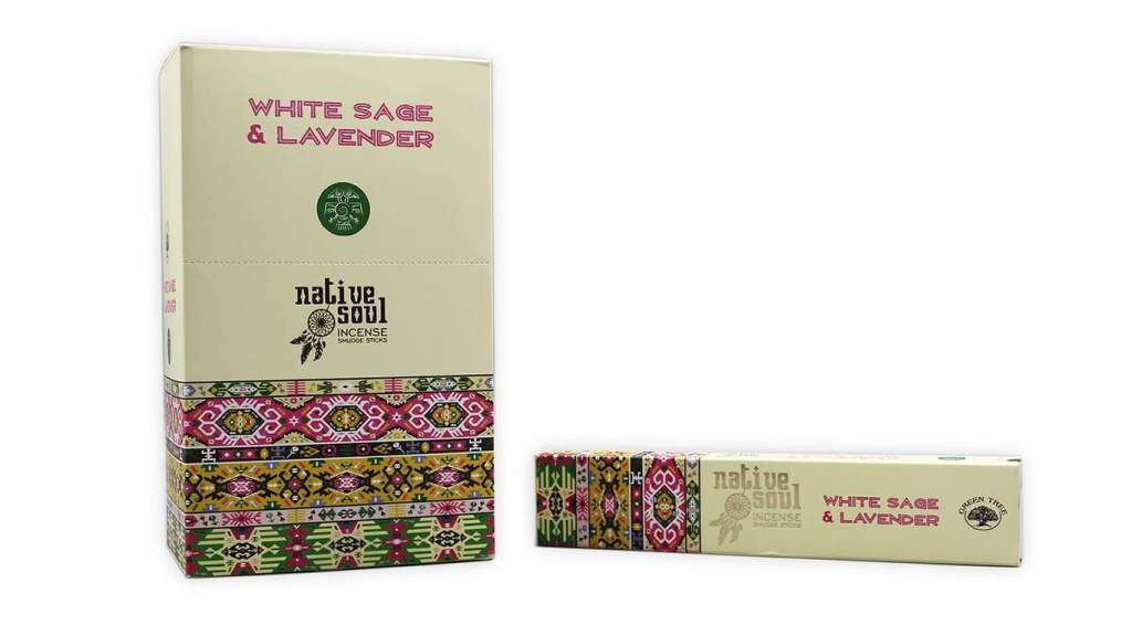 Green Tree Incense – White Sage & Lavender
