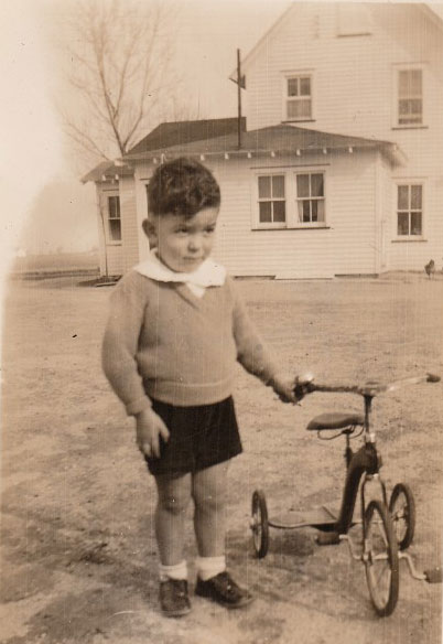 boy with bike