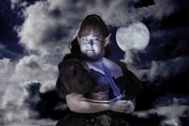 At night with moon ©Sharon Popek