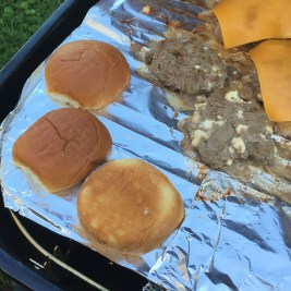 Toasting buns